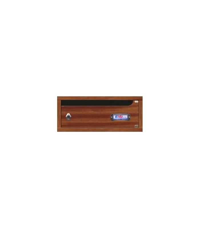 Buzones modelo niza madera barnizada sapelly - Limpieza de madera barnizada ...