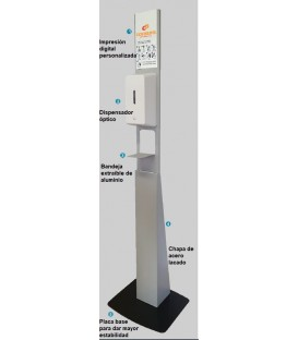 ECO - Soporte pie dispensador gel hidroalcohólico
