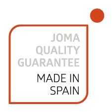 Fabricación 100% española - Calidad garantizada de la fábrica Joma. Contenedor Sanit para luchar contra Covid-19